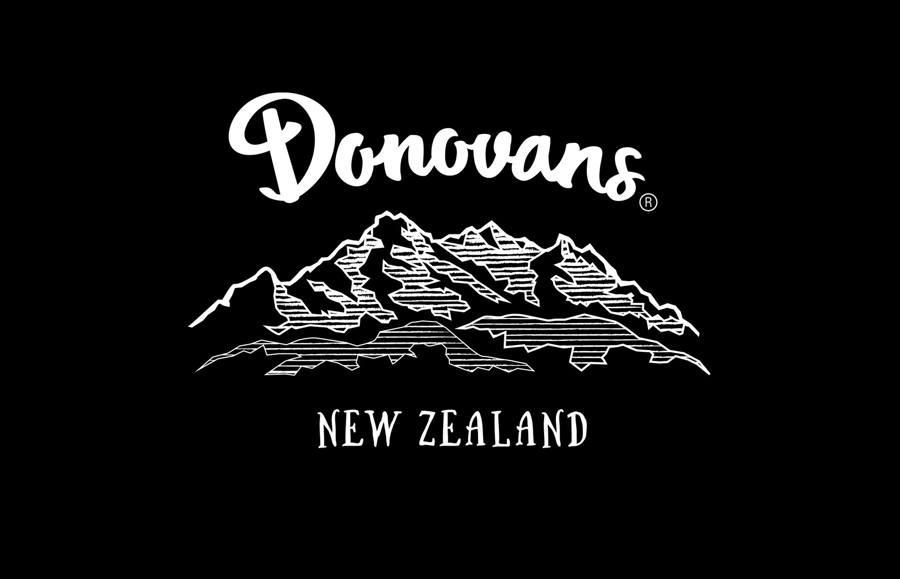 Donovans Chocolate logo graphic