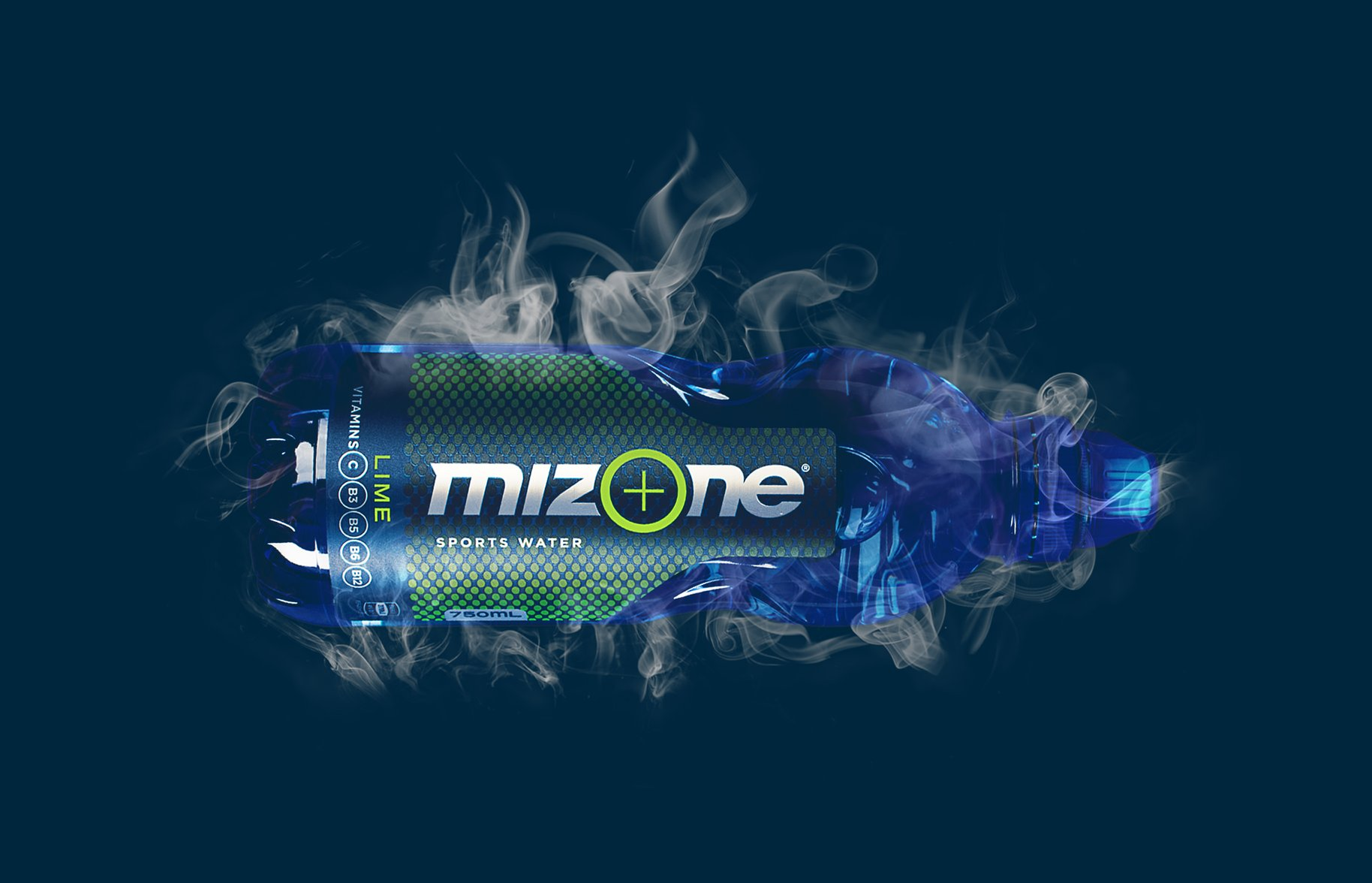 Mizone Front of Bottle