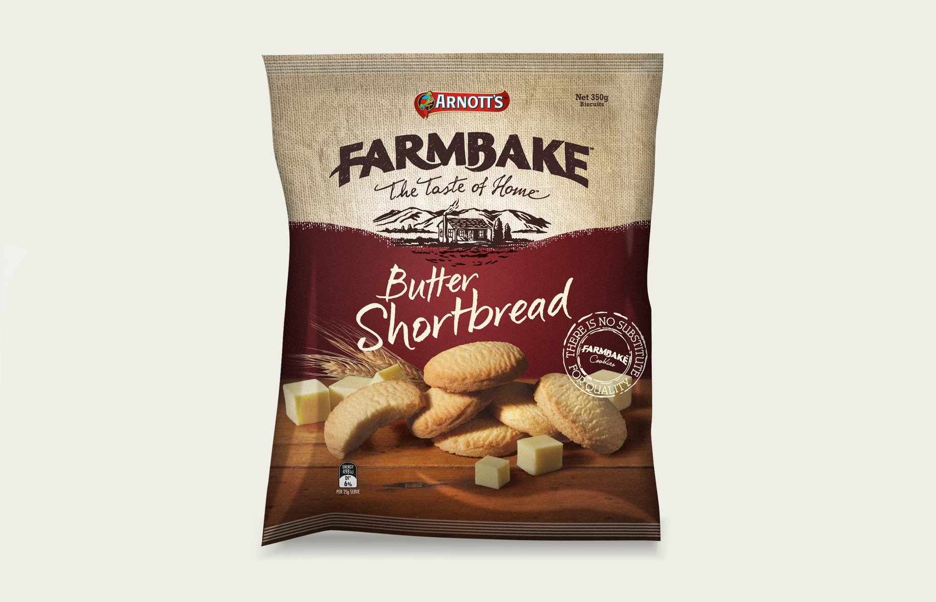 FarmBake Butter Shortbread Biscuits