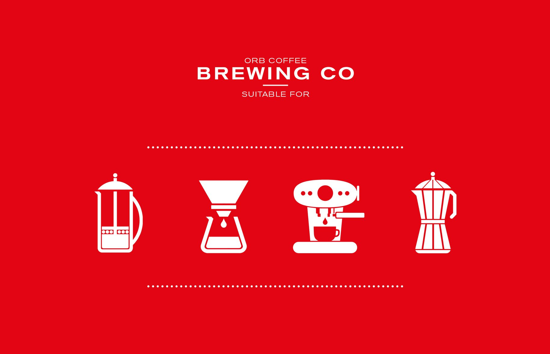 Orb Coffee brewing icons