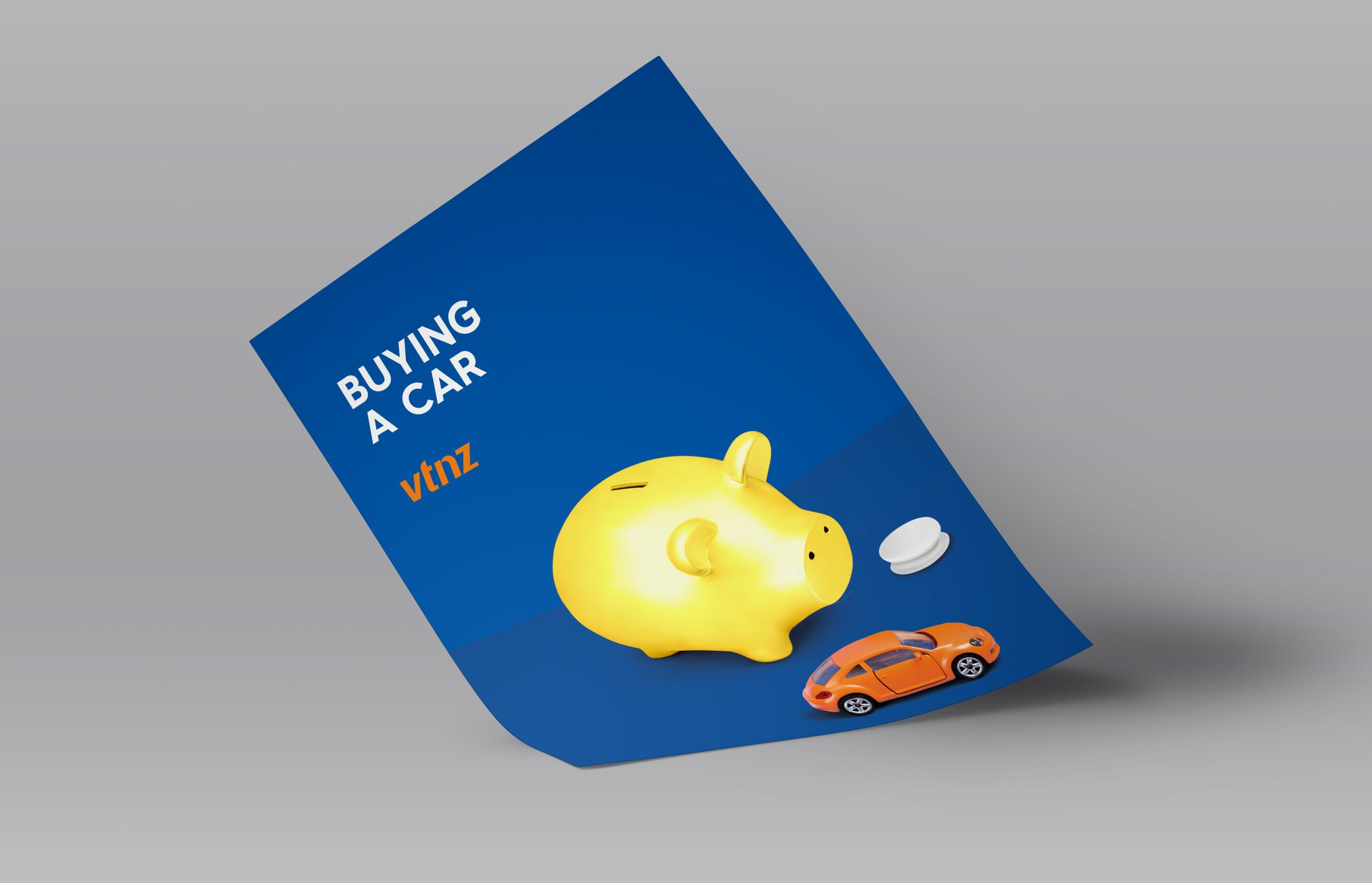 VTNZ 'Buying a car' Poster