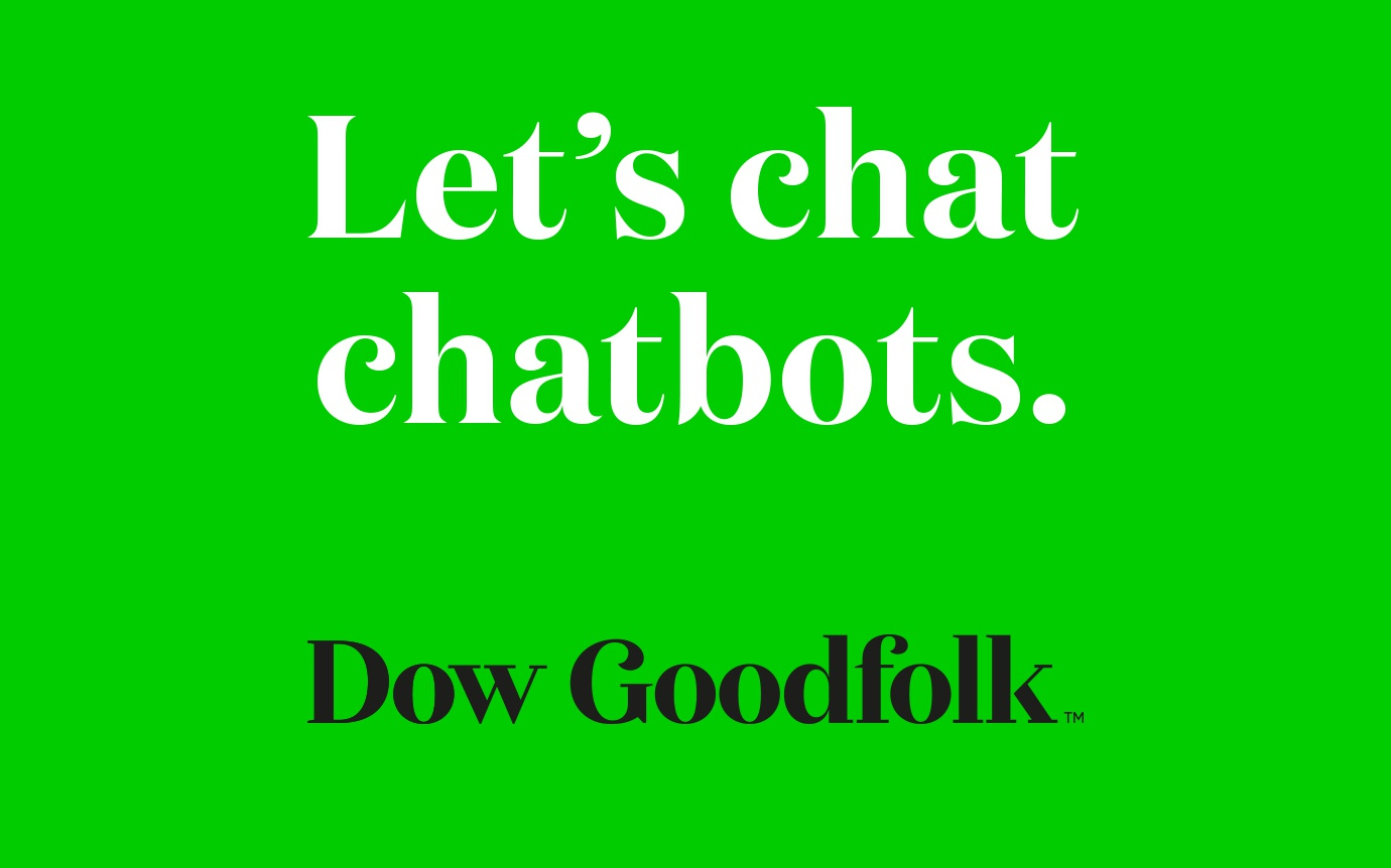 What I learned configuring a chatbot for fun. image