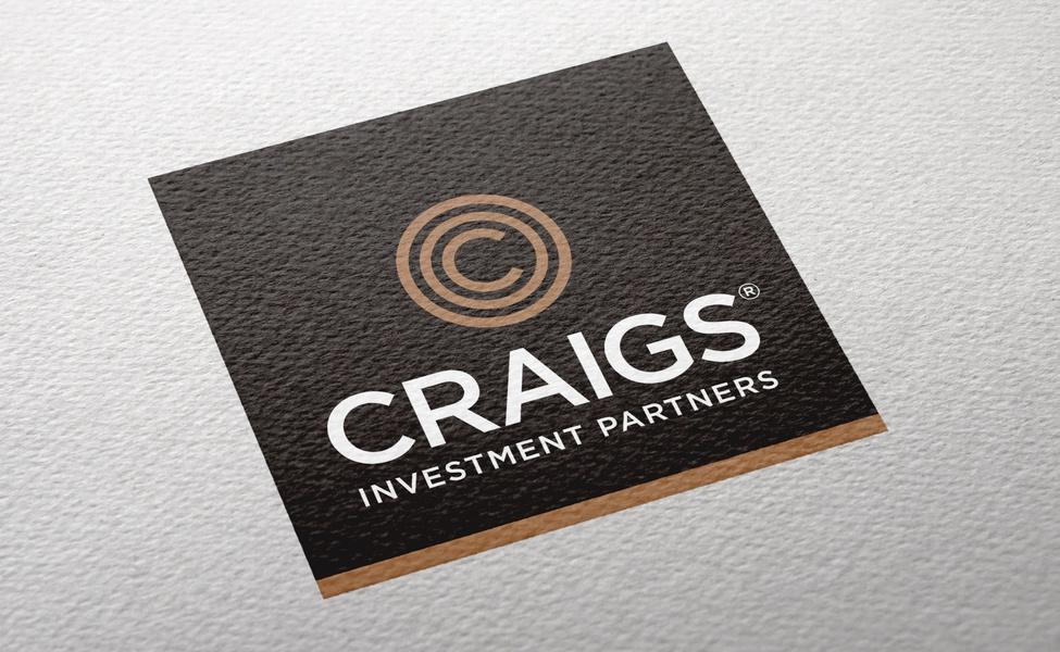 Craigs Investment Partners logo on textured paper