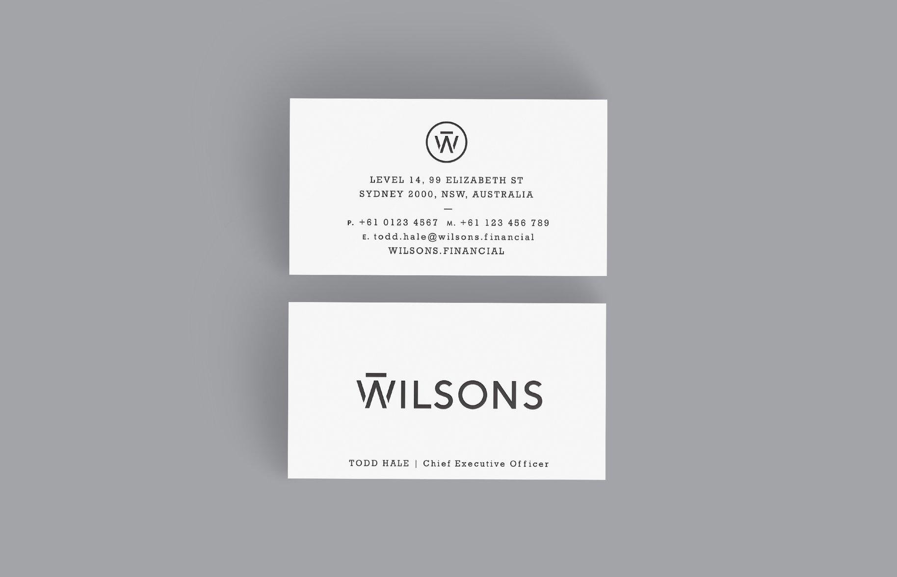 Wilsons investment advisors case study