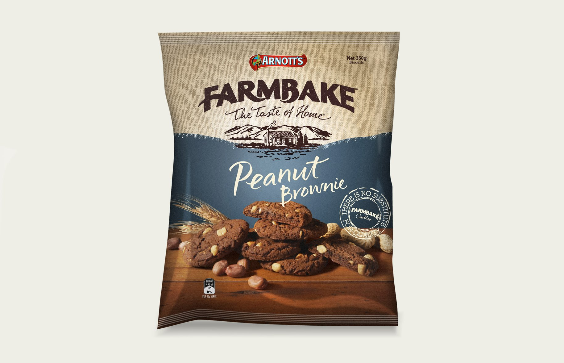 FarmBake Peanut Brownie Biscuits
