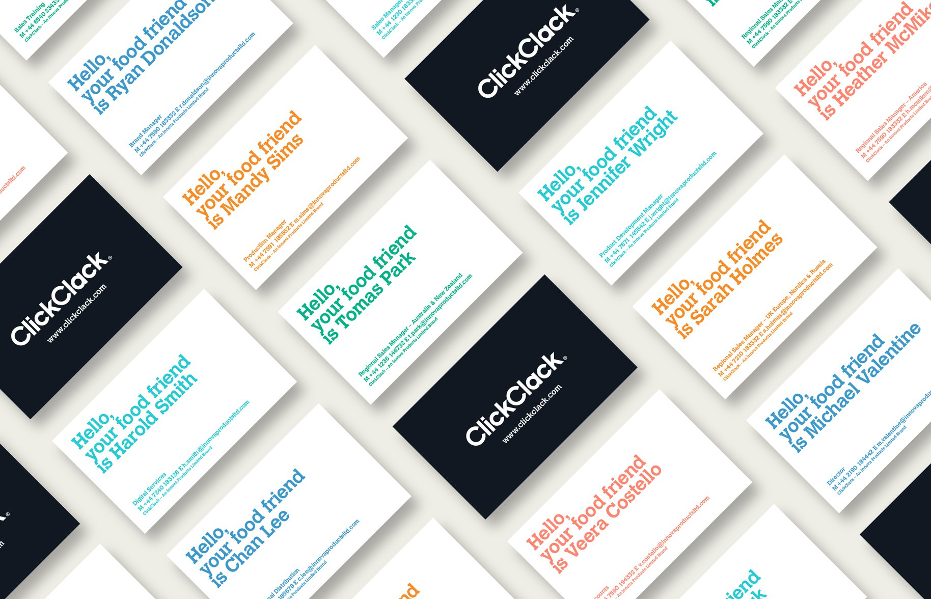 Click Clack Business Cards