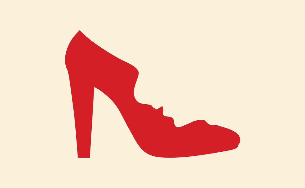 A Woman's Right To Shoes Film Illustration