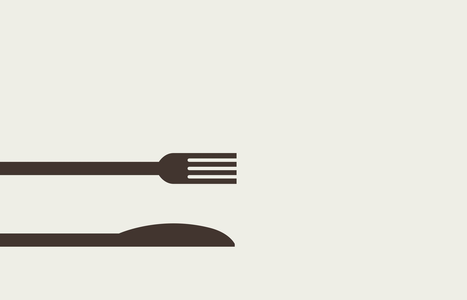 My Main Course Knife & Fork Graphic