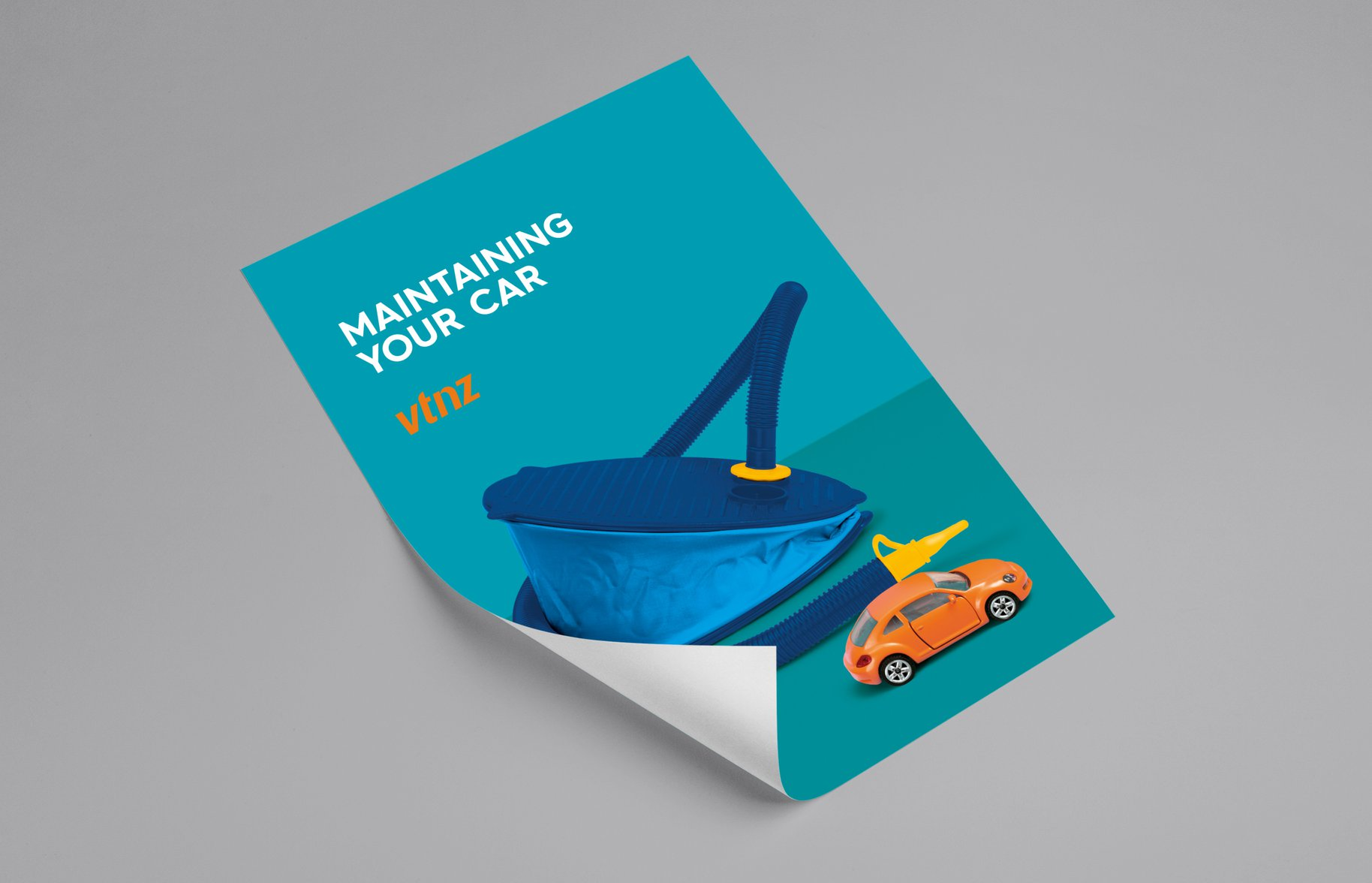 VTNZ 'Maintaining your car' Poster