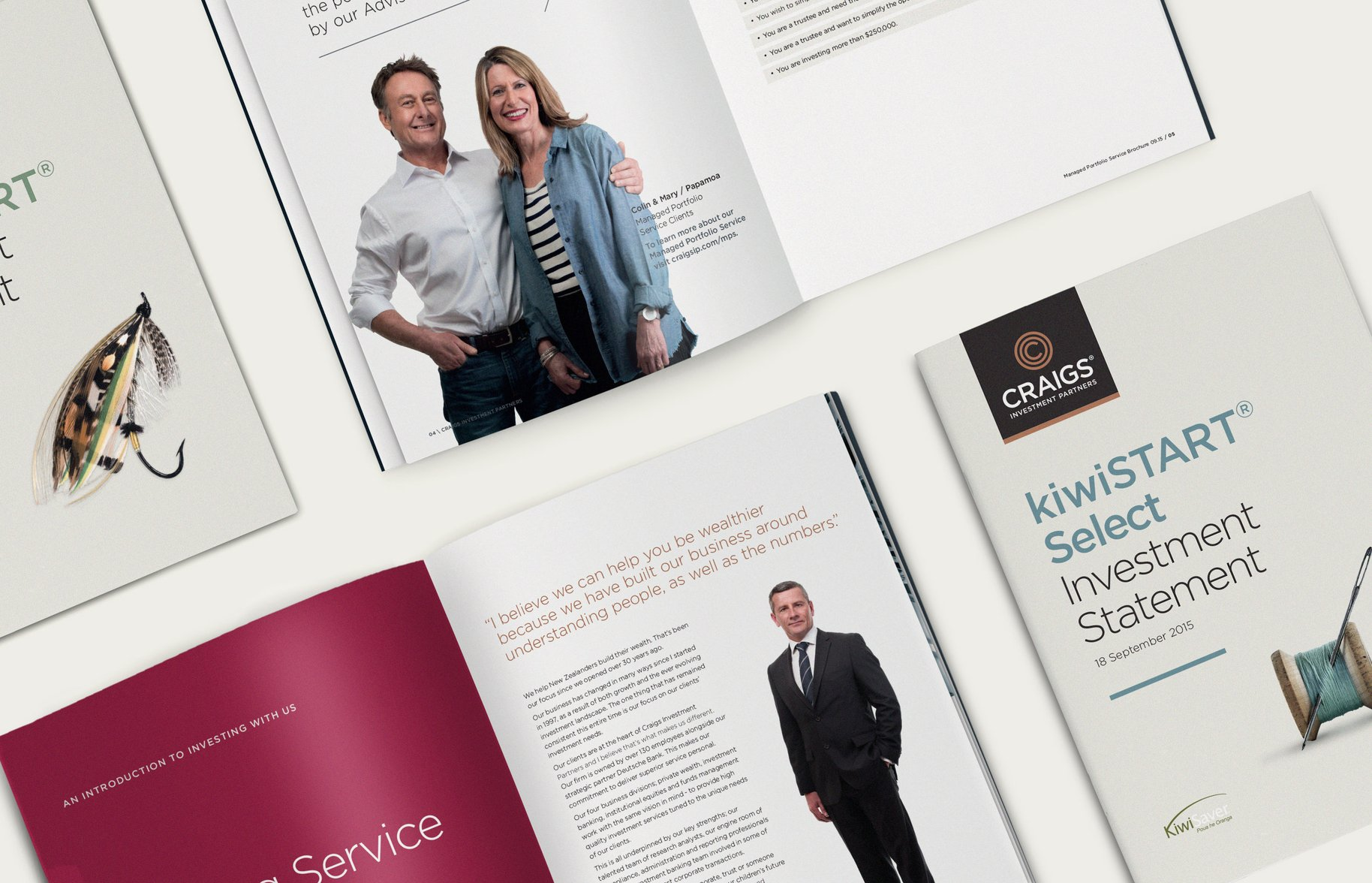 Craigs Investment Partners booklet spreads