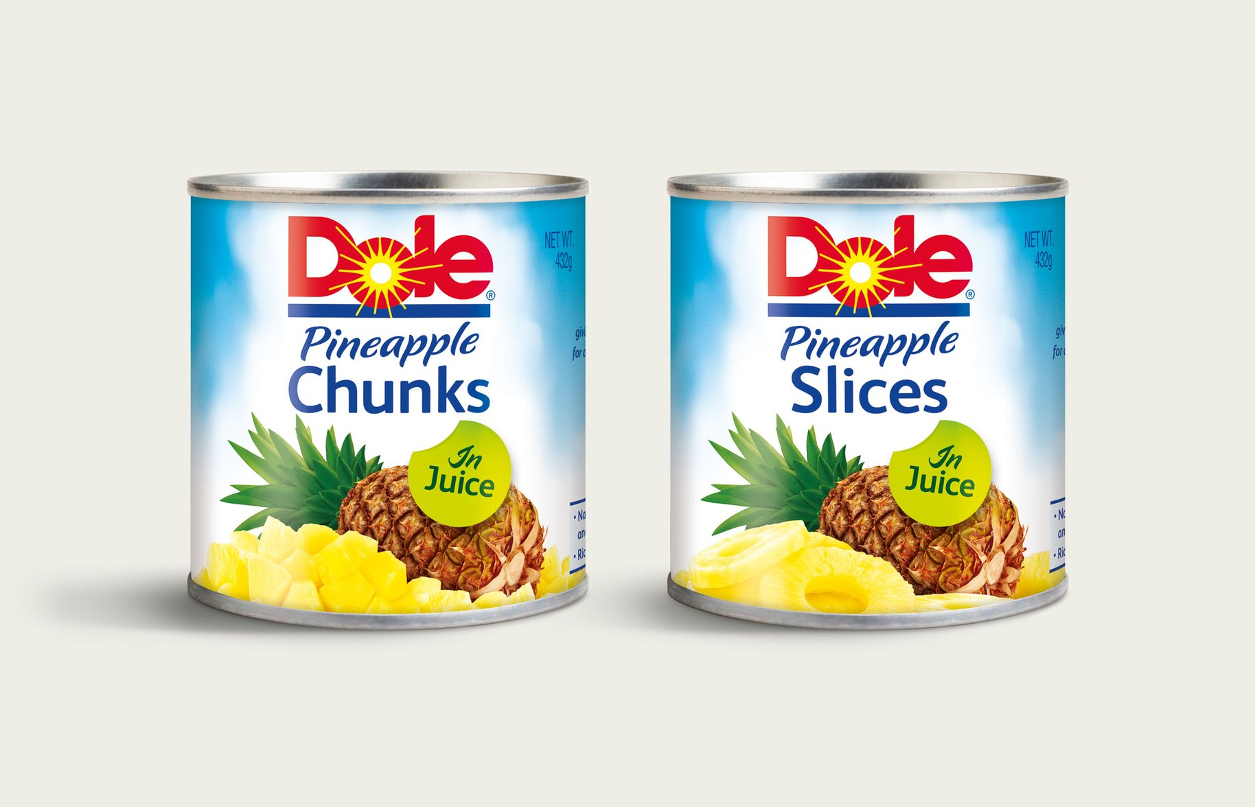Dole Pineapple Packaging Design before