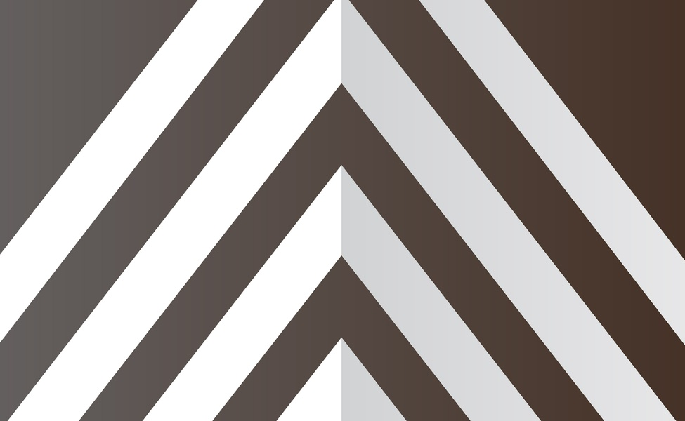 Burton Partners chevron pattern