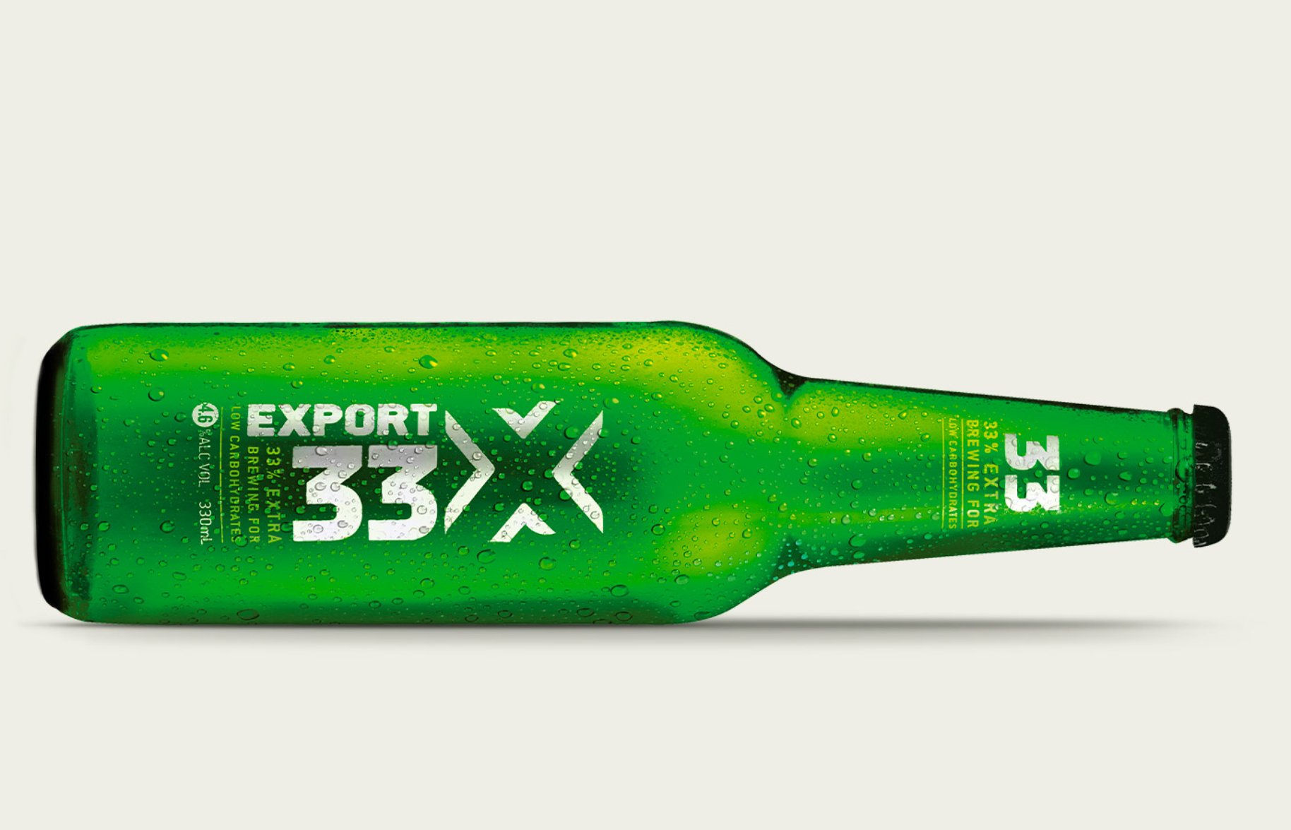DB Export 33 Bottle Packaging