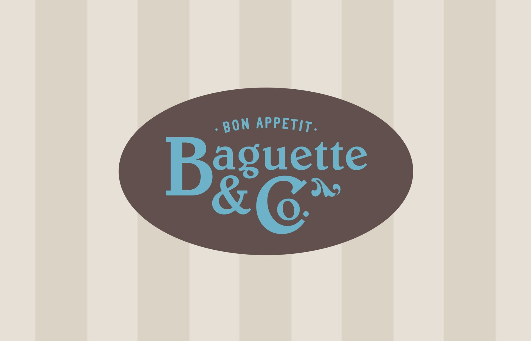 Baguette & Co logo graphic
