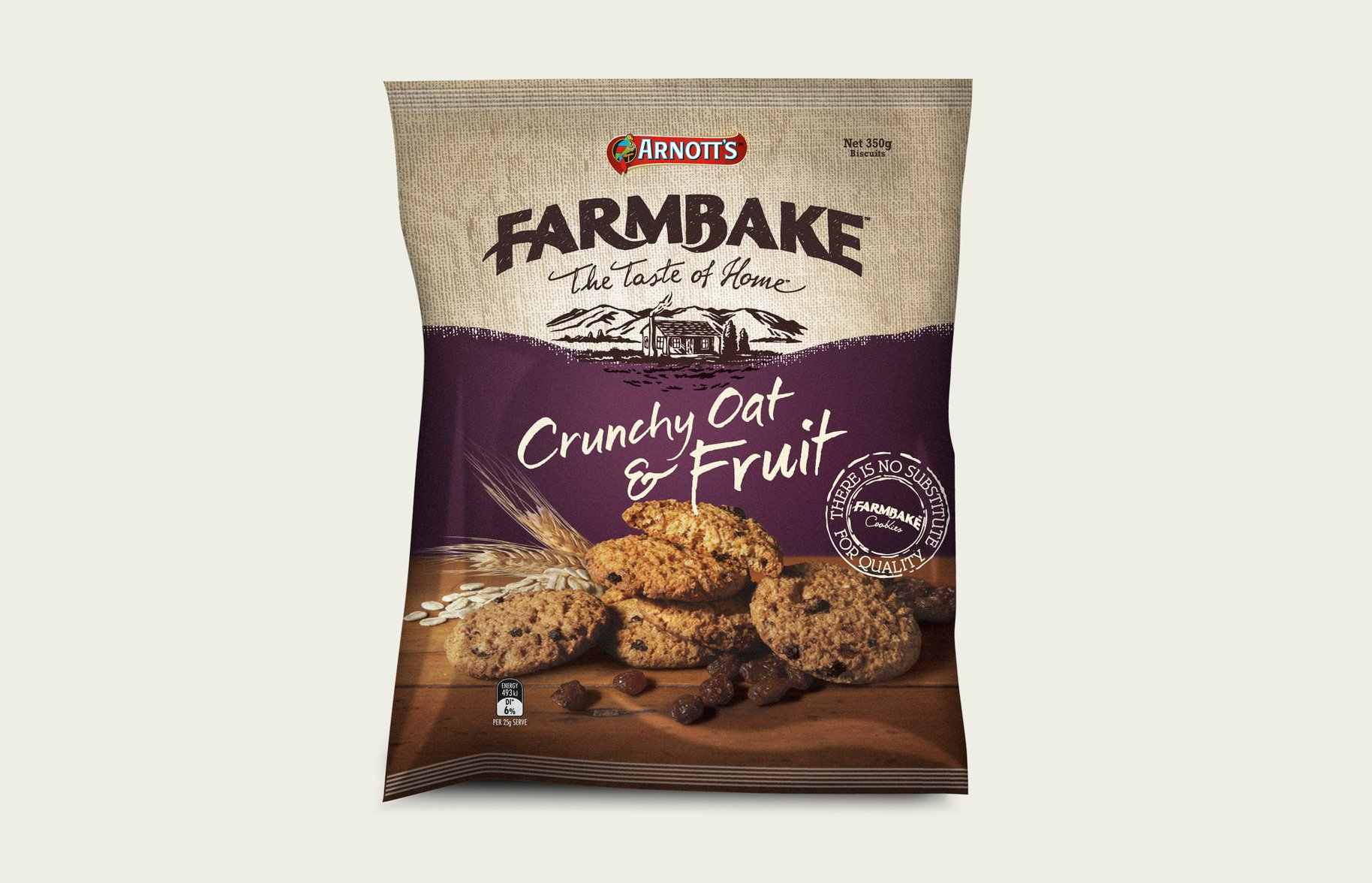 FarmBake Fruit Oat Biscuits