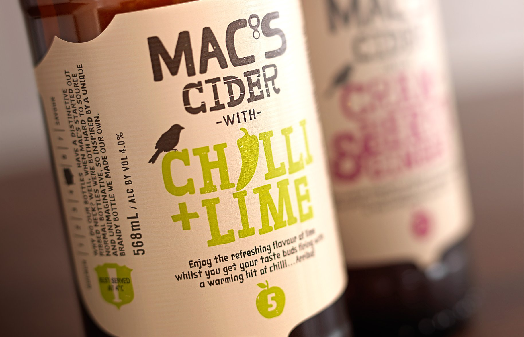 Macs Beer cider detail photography