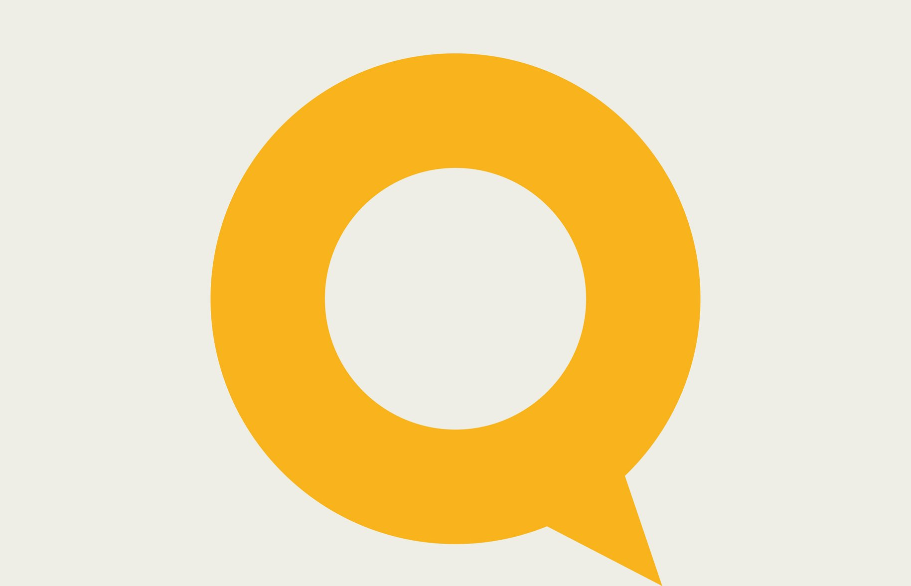 Q Theatre Yellow Brand Identity
