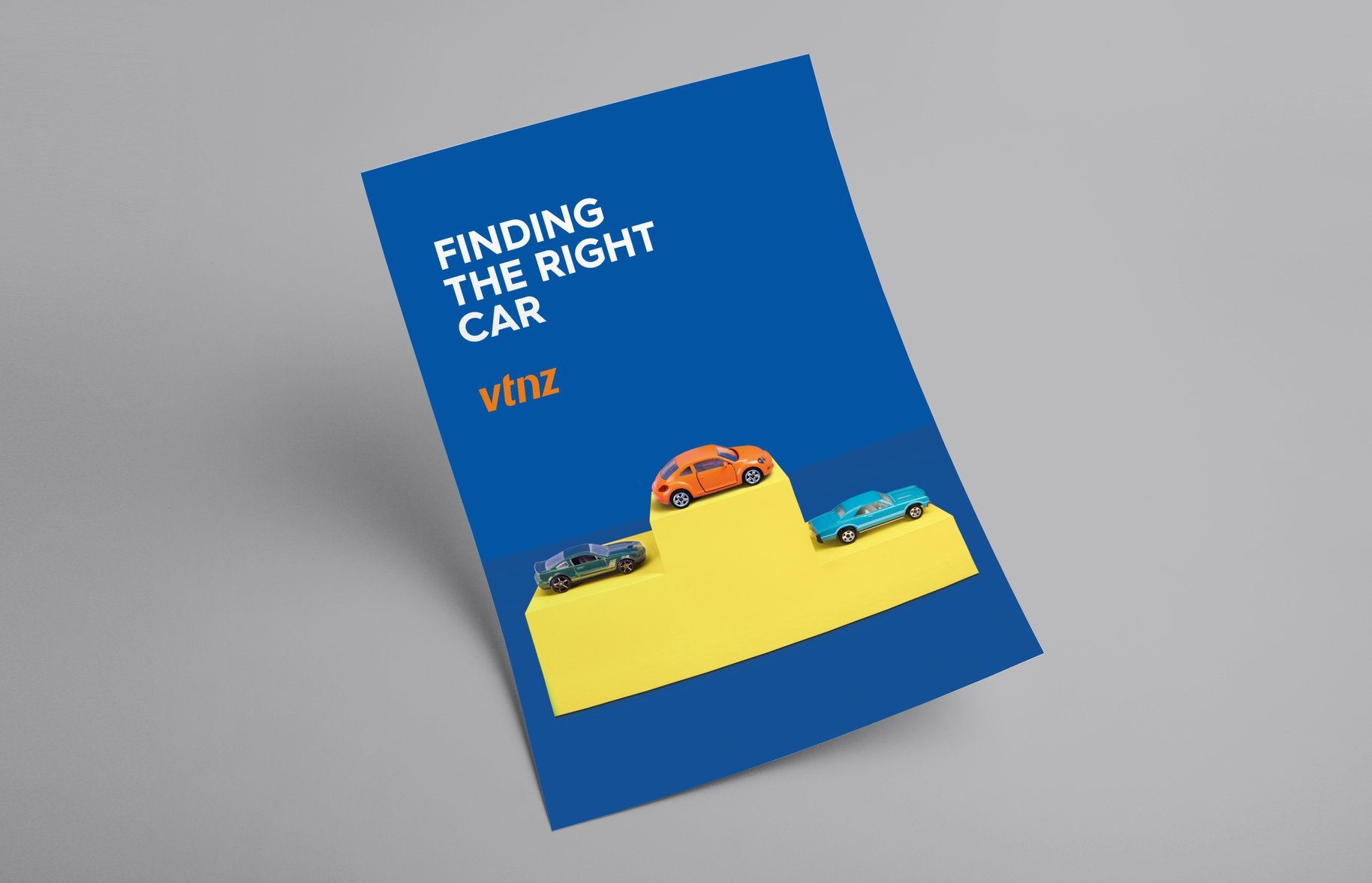 VTNZ 'Finding the right car' Poster