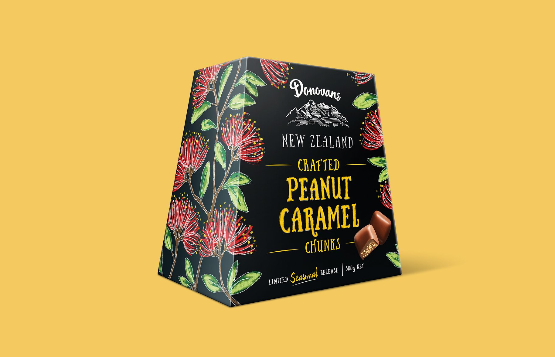 Donovans Chocolate seasonal release packaging