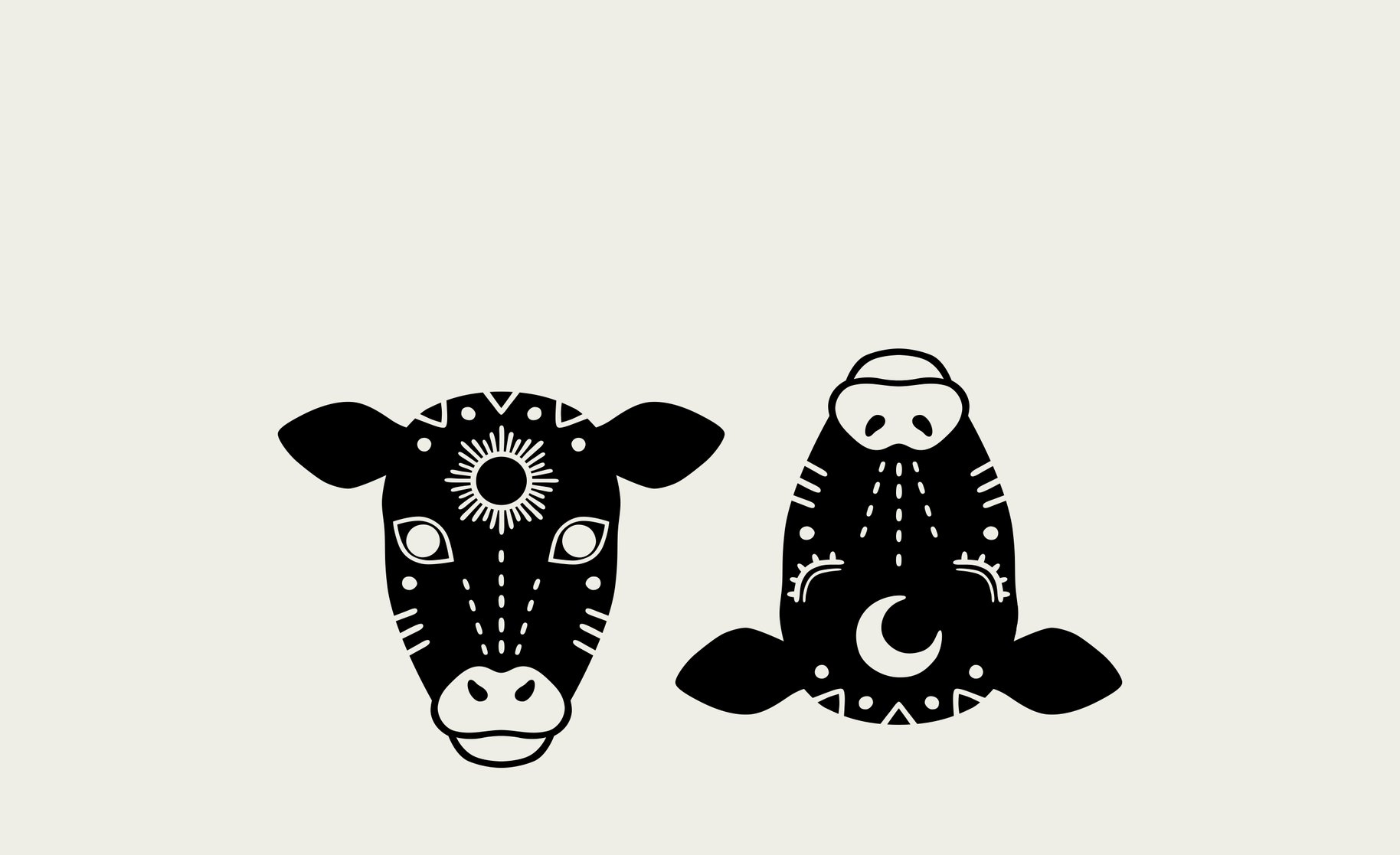 WDOM cow illustrations